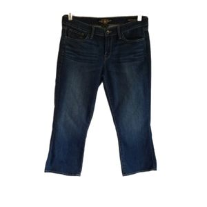 Lucky Brand Charlie baby boot cropped jeans